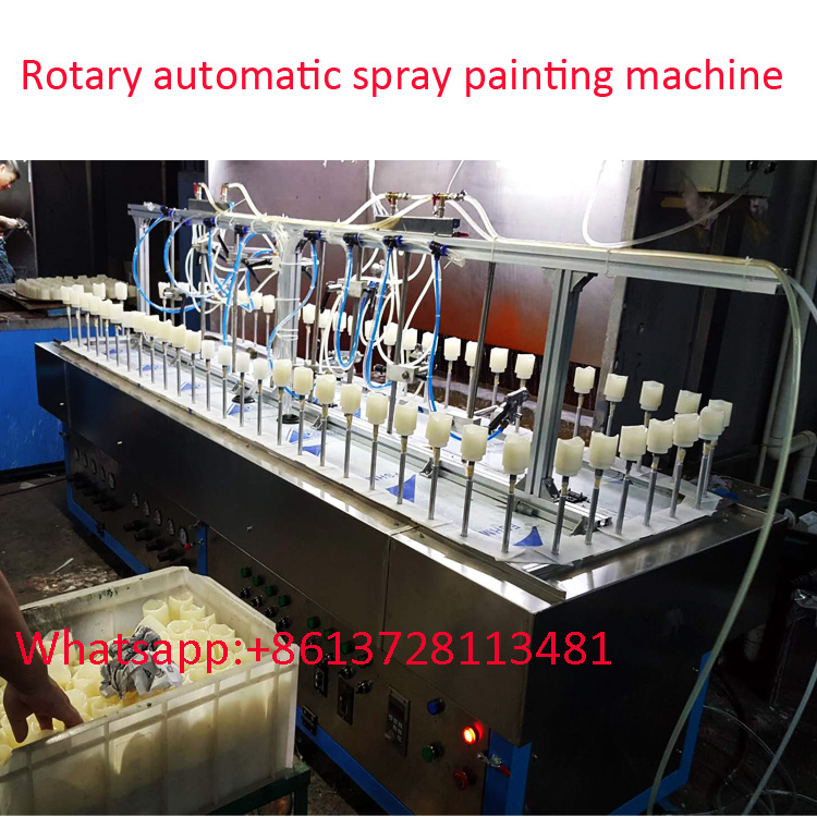 3 M rotary conveyor automatic spray painting machine