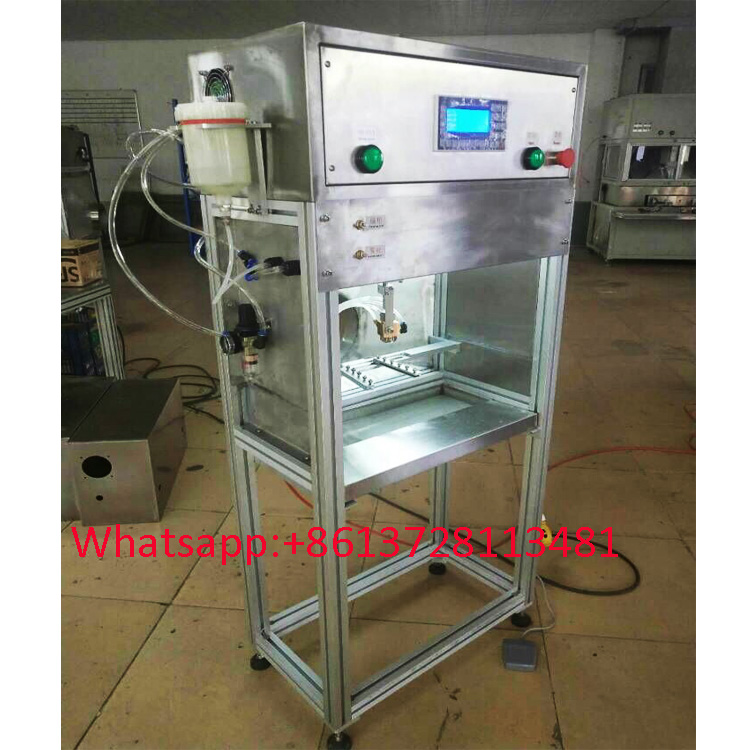 Manual small PLC spray painting machine