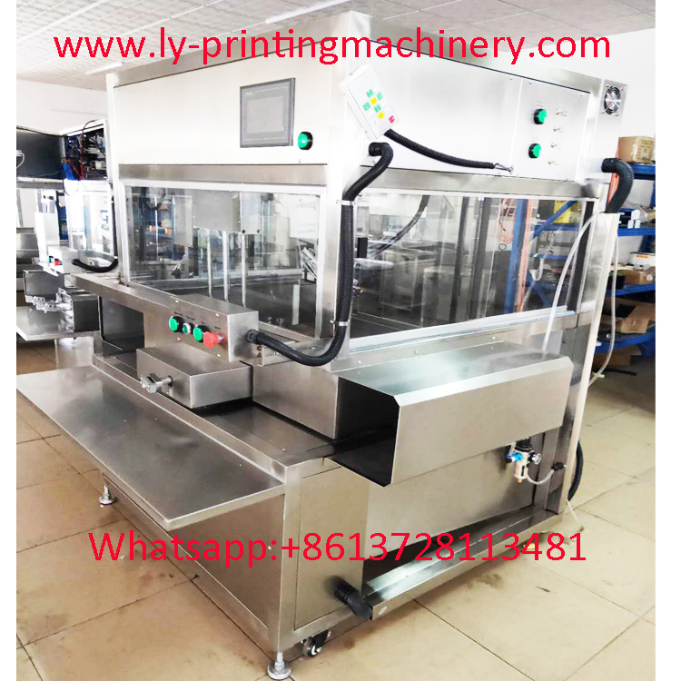 Hinge double color big Painting Machine